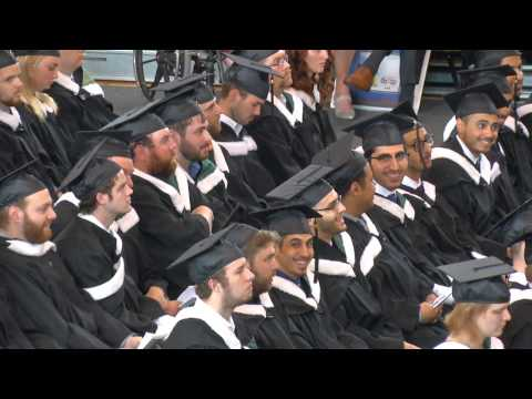 University of New Brunswick 2015 Encaenia -  Ceremony D