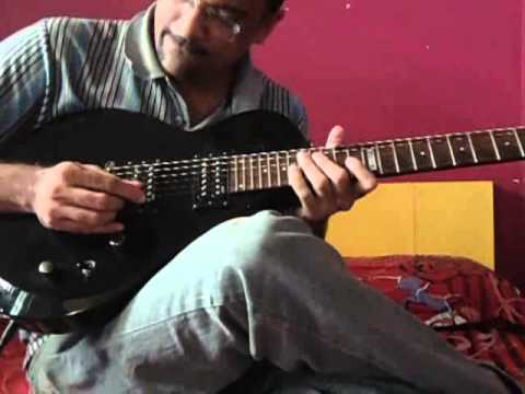 Mere Sapno ki Rani Kab Aayegi tu on Guitar