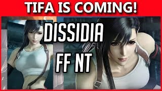 Dissidia Final Fantasy NT - Tifa Announced - Ethics Department *Chuckle*