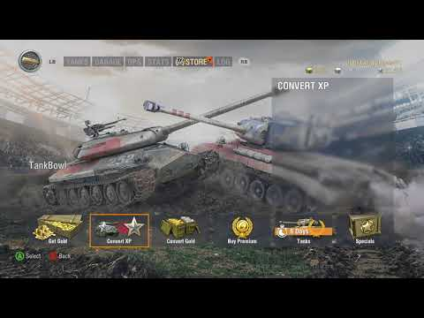 World of Tanks Xbox one CHAMPION M4 SHERMAN (from 1 min 40 )