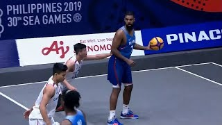Highlights: Philippines vs. Cambodia | 3X3 Basketball M Prelim Round | 2019 SEA Games