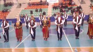 Çorum Halk Eğitim Halk Oyunları Gurubunun Yarışmadaki Gösterisi