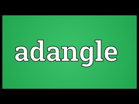 Header of Adangle