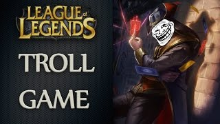 TWISTED FATE ADC ? │LoL │Troll Game