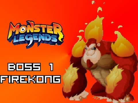 Monster Legends - Fire Kong Boss! [BOSS 1]