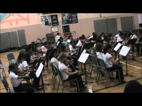 Julius West Middle School 6th grade Orchestra - Intensity