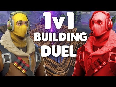 INTENSE 1v1 Building Duel after TRIPLE ELIMINATION (Fortnite Battle Royale)