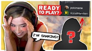 Pokimane Plays with Her Gaming CRUSH! Apex Legends!
