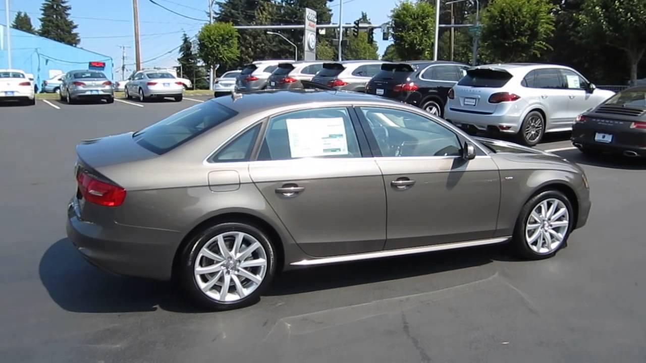 2014 Audi A4 Dakota Gray Stock 109433 Youtube
