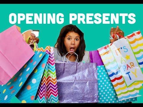 Klai's Birthday Treasure Hunt & Opening Presents