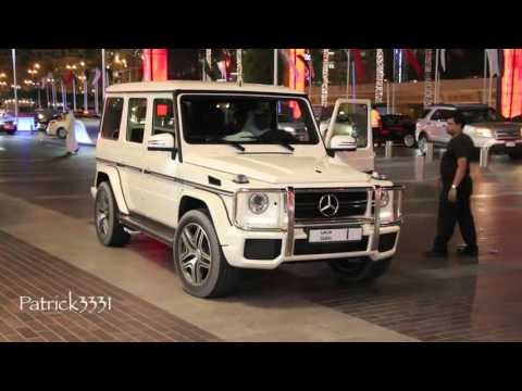 Once more I was lucky to find H.R.H. Sheikh Mohammed Bin Rashid Al Maktoum to arrive in his G63 AMG V8 Biturbo Mercedes-Benz No. 1 to the Dubai Mall. I was right in front and I was able to...
