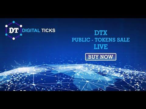 [ICO] Digital Ticks - Торговая платформа для криптовалют!