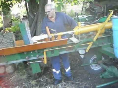 Cepanje drva Miroslav Vranovo part2