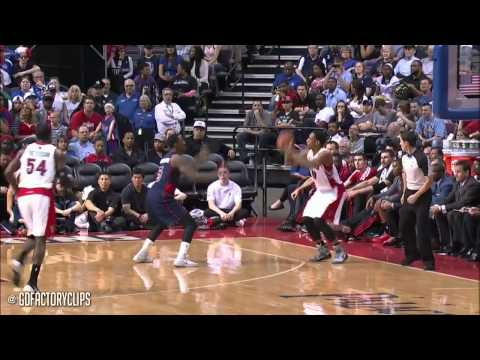 2014.04.13 - DeMar DeRozan & Kyle Lowry Full Combined Highlights at Pistons