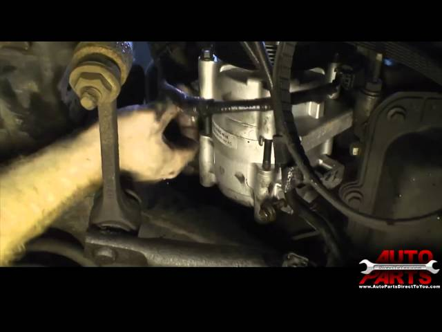 2000 Lincoln Town Car AC Compressor and Accumulator Drier ...