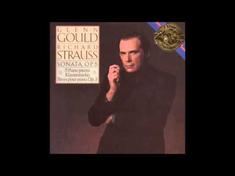 Richard Strauss- Piano Sonata in B minor, op. 5 [Glenn Gould]