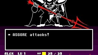 Undertale (Pacifist) - Part #13: King Asgore (Neutral Ending)