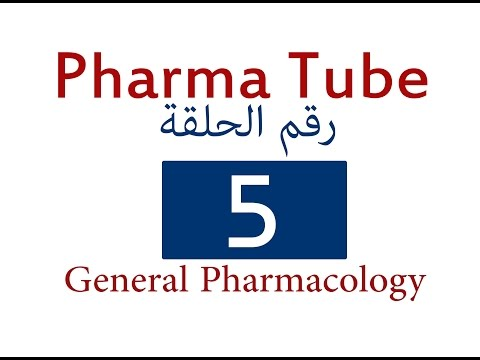 Pharma Tube -5- General Pharmacology -5- Dose and Drug Interactions [HD]