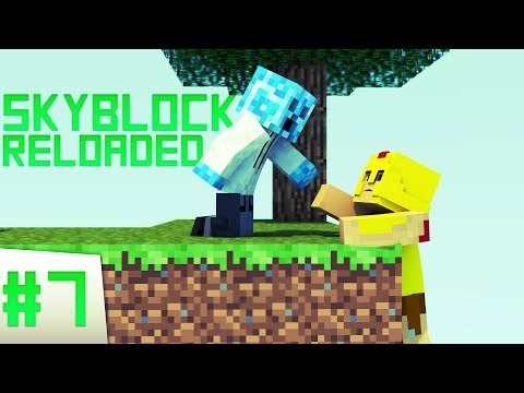 Minecraft: SKYBLOCK RELOADED! Ep 7 CARROTS!