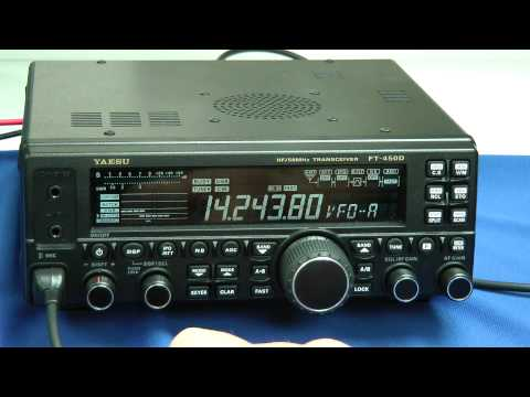 Yaesu FT-450D Walkthrough