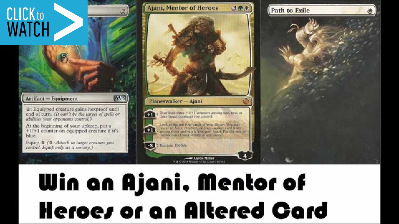 Mentor of Heroes Deck Ajani Mentor of Heroes And