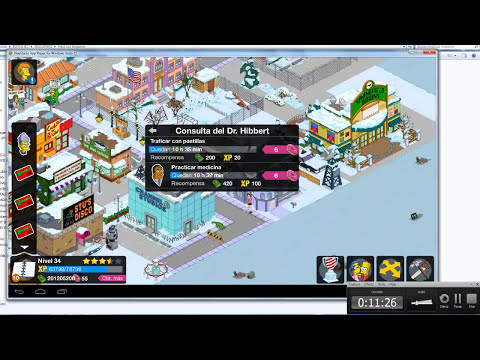 2014 | Hack Los Simpsons 4.6.1 | DINERO Y ROSQUILLAS con Bluestacks | GRATIS - NO SURVEY