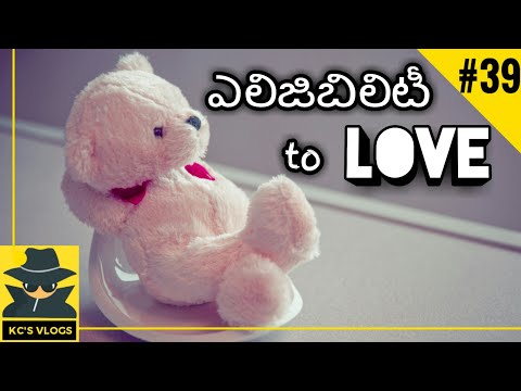 ELIGIBILITY TO LOVE | Funny TELUGU Videos | Kc's Vlog #38 | by Chandrahas
