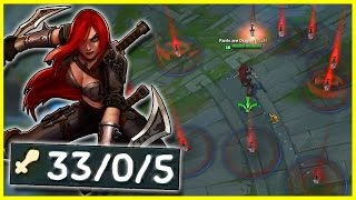 """THE """"PERFECT"""" URF KATARINA GAME   League of Legends (ULTRA RAPID FIRE 2017)"""