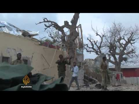 Somali forces secure hotel seized by al-Shabab