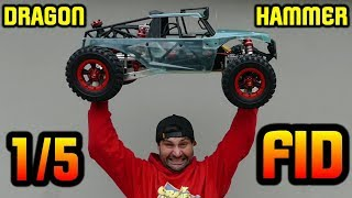FID RACING DRAGON HAMMER V2 1/5 4WD BEAST - Unboxing And In-Depth First Look
