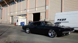 Supercharged Dodge Charger 1968 1500 HP.