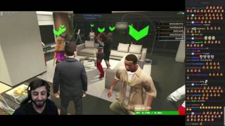 Waffle's epic RAP (GTA V RP) with twitch chat