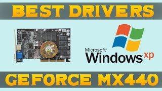 Drivers Test for GeForce 4 MX 440 (Windows XP)