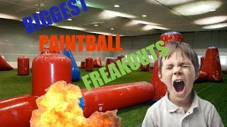 BIGGEST PAINTBALL FREAKOUTS