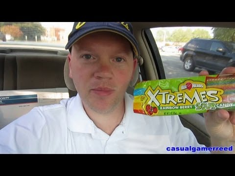 Reed Reviews - Air Heads Xtremes Belt Rainbow Berry Sour Candy