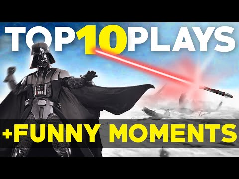 Star Wars Battlefront: Top 10 Plays + Funny Moments EP.1 (Battlefront Beta Online Gameplay)