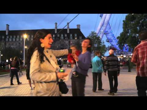 Official Video Rain Of Poems Over London 2012   Bombardeo De Poemas Sobre Londres 2012 By Casagrande video