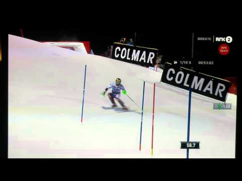 Drone Crash Slalom Marcel Hirscher
