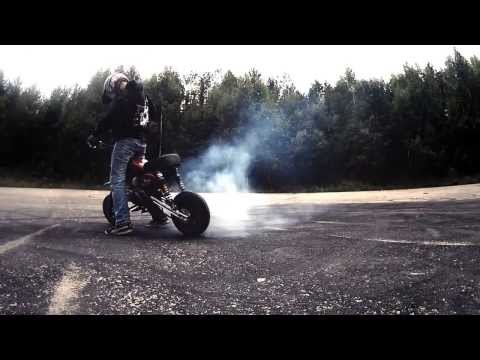 Summer wheelies 2013 | Honda Monkey