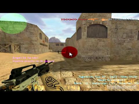 Como Jugar Counter Strike 1.6 Online y Con Personas de Todo el Mundo !! Gratis !!
