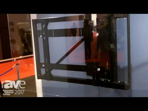 ISE 2017: Future Automation Displays HSE90 Motorized TV Wall Mount