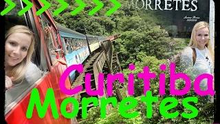 Trem Curitiba - Morretes (Serra Verde Express) Ida e Volta