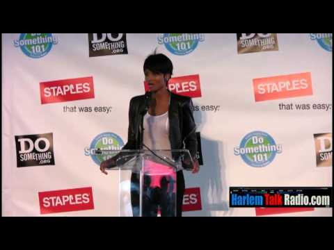 Ciara, singer & songwriter inspiring children in America
