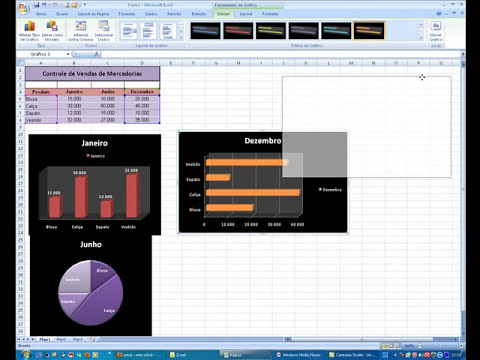 EXCEL - Aprenda a criar Gráficos no Excel
