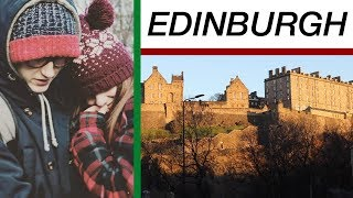 FUN IN EDINBURGH SCOTLAND VLOG! Disaster Artist, Christmas Market, Princess Street! XMAS