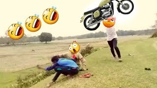 Latest Funny videos 🤣🤣 comedy videos #04🤣🤣 With Meraz