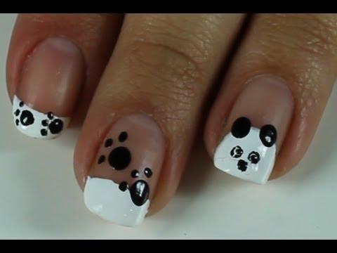 Unhas de Urso Panda e Patinhas (animal) Panda Bear Nail (paws, Frenchie)