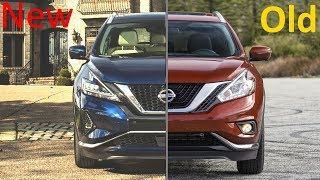 New 2019 Nissan Murano facelift Vs. Old 2018 Nissan Murano