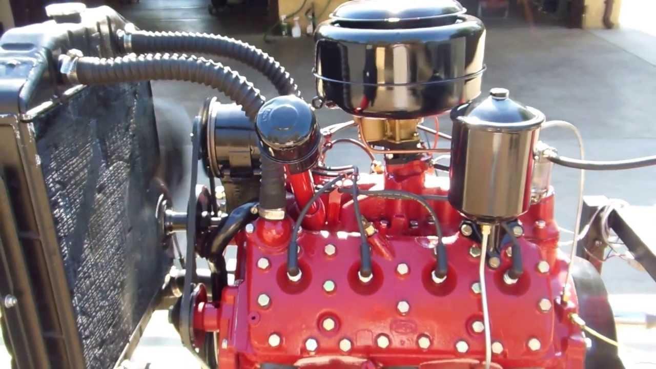 1953 Ford Flathead V8 8ba Engine Youtube