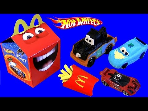 Play Doh Happy Meal Hot Wheels Mcdonalds Kids Baby Toys